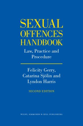 The Sexual Offences Handbook (2nd edition) is outnow!