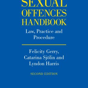 Sexual Offences Handbook – second edition due May 2014